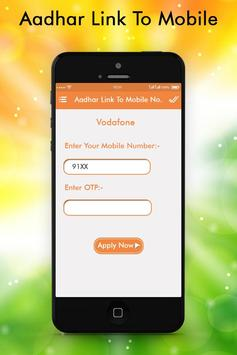 Aadhar Card Link  with Mobile Number Guide screenshot 3