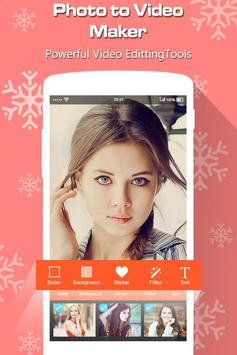 Photo to Video Maker with Music screenshot 1