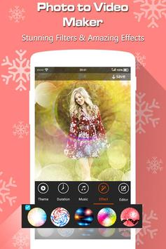Photo to Video Maker with Music screenshot 2
