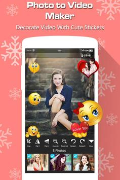 Photo to Video Maker with Music screenshot 3