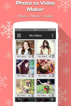 Photo to Video Maker with Music screenshot 5