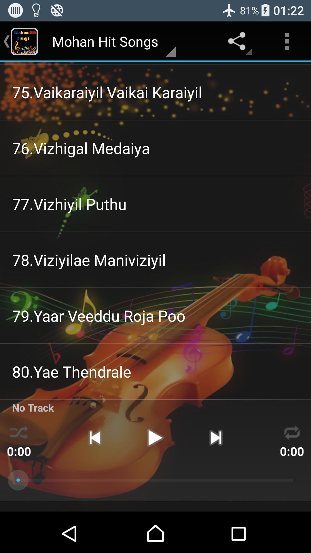 Mohan Hit Songs Tamil for Android - APK Download