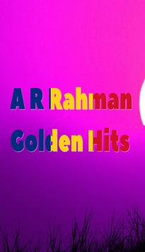 A R Rahman Golden Hit Songs Tamil poster