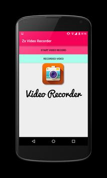 zx video recorder poster