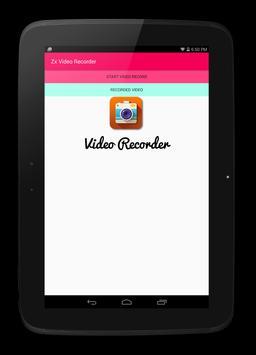 zx video recorder apk screenshot