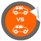 Car size comparison tool icon