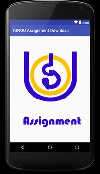 ignou assignment screenshot 1