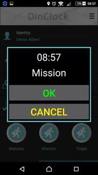 DinClock mobile screenshot 3