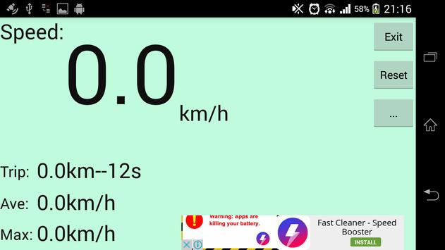 GPS Speedometer screenshot 4