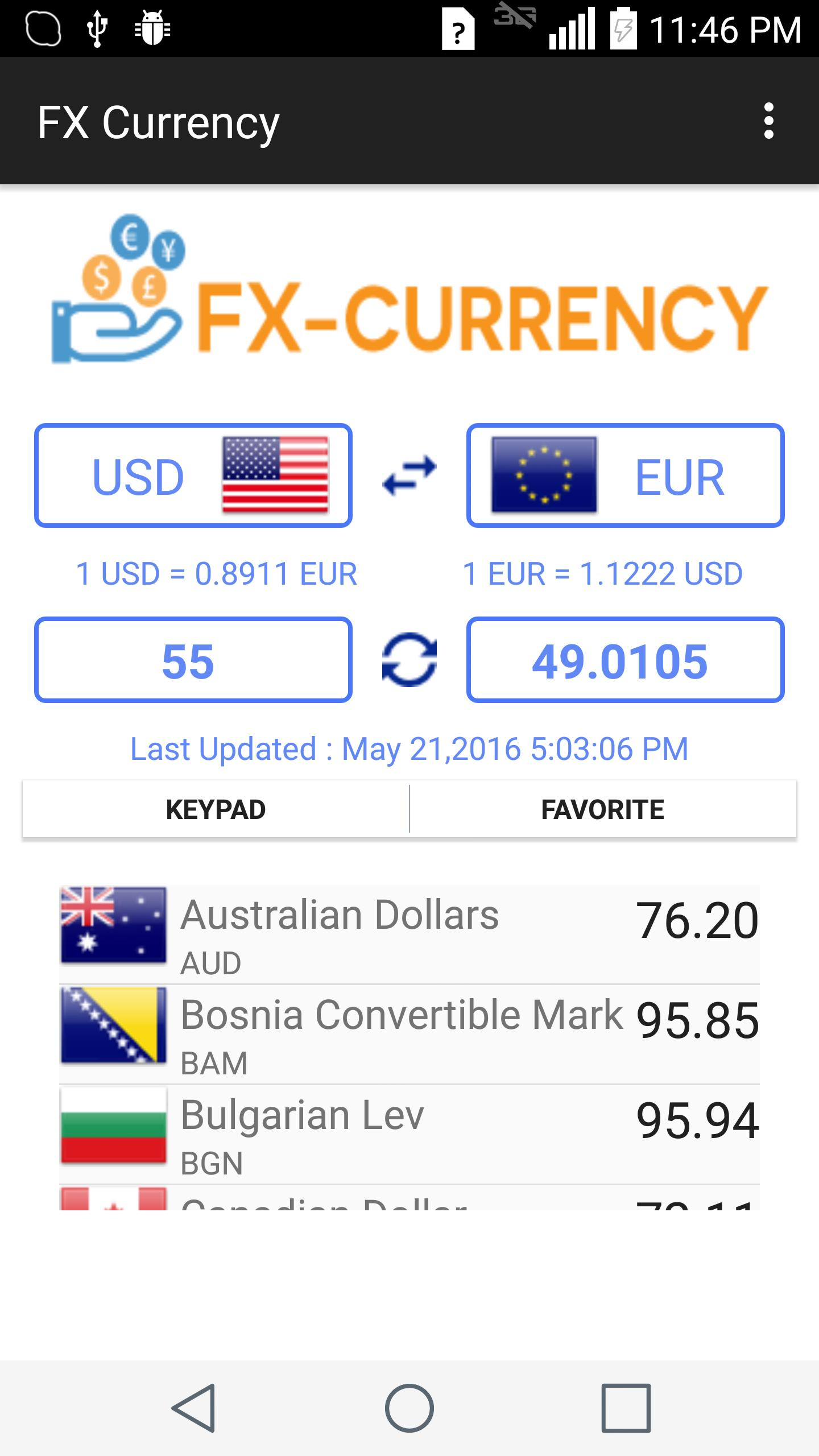 FX Currency Converter Offline for Android - APK Download
