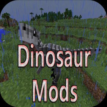 Dinosaur Mods for Minecraft PE poster