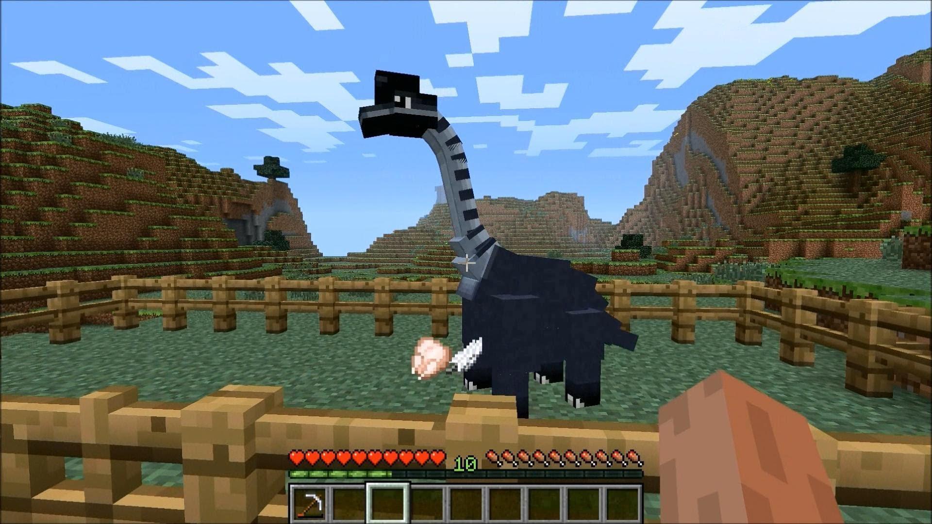 майнкрафт динозавры ютуб #6