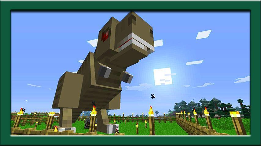 minecraft mods dinosaurs