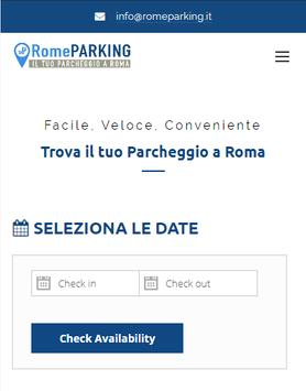 Rome Parking poster