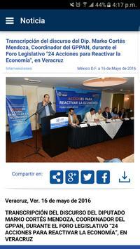 Diputados GPPAN Ekran Görüntüsü 3