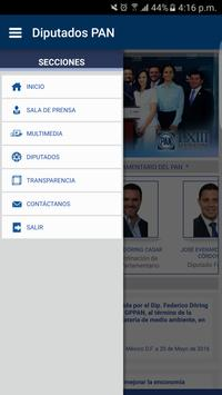 Diputados GPPAN Ekran Görüntüsü 2