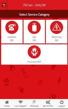ITN Cash - Recharge & Bill Pay apk screenshot