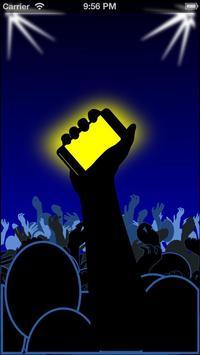 Universal Disco Lights poster