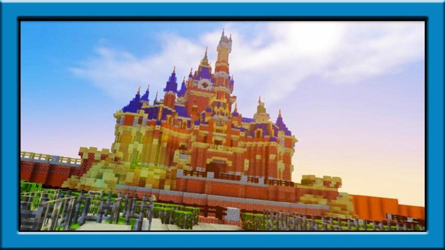 Disneyland Maps For Minecraft Pe For Android Apk Download