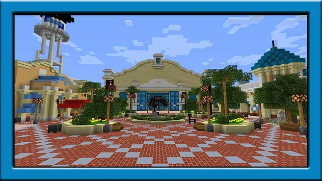 Disneyland maps for minecraft pe für Android - APK herunterladen on