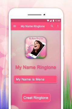 My Name Musical Ringtone Maker poster