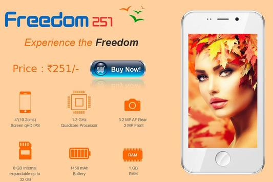 Freedom 251 Fast Register poster