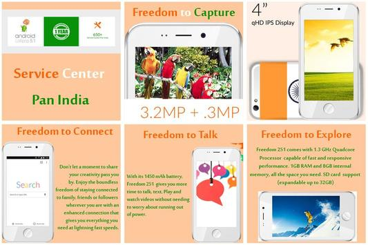 Freedom 251 Fast Register apk screenshot