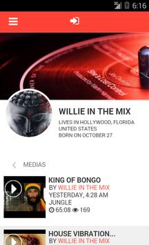 Willie In The Mix poster