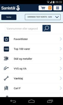 Sanistål apk screenshot