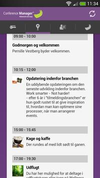 Deltager - Conference Manager poster