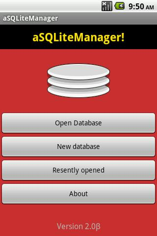 aSQLiteManager for Android - APK Download