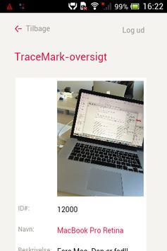 TraceMark apk screenshot