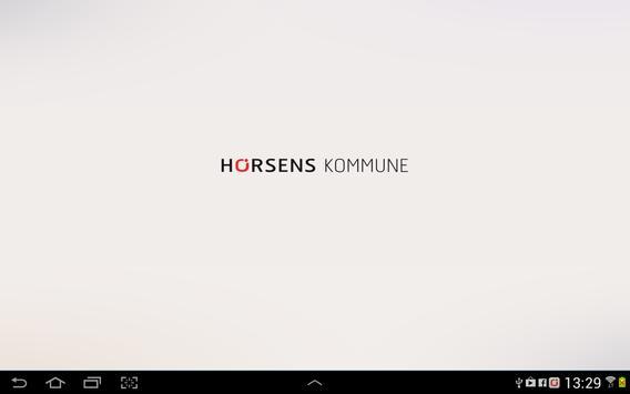 Horsens Kommune Dialogplatform apk screenshot