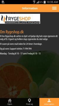 Rygeshop.dk apk screenshot