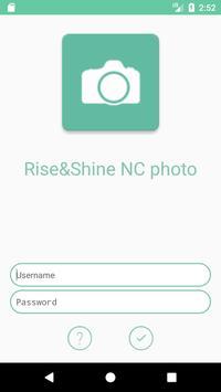 Rise&Shine NC photo poster