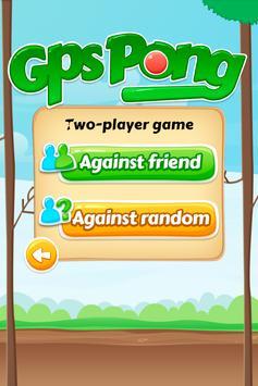 Gps Pong – Outdoor paddle ball screenshot 1