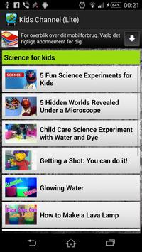 KidsPlay Poems Videos for Kids apk screenshot