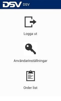 DSV Driver Application apk screenshot