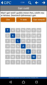 GPC Geiriadur Welsh Dictionary screenshot 5