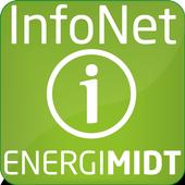 EnergiMidt InfoNet icon
