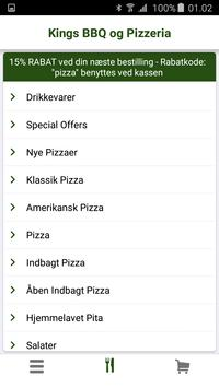 Kings BBQ og Pizzeria, Esbjerg screenshot 2