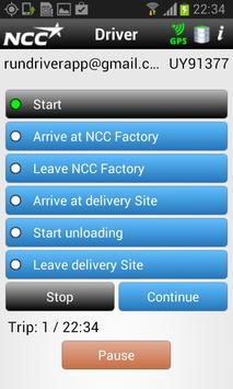 NCC Driver apk screenshot