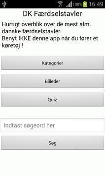 DK Færdselstavler poster