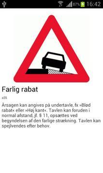 DK Færdselstavler apk screenshot
