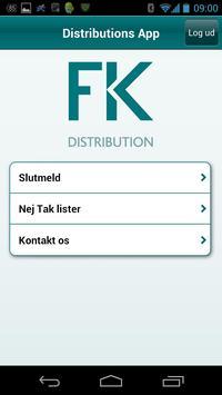 Distributør screenshot 1