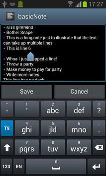 basicNote screenshot 1