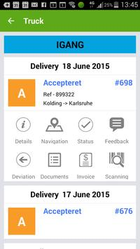 Truckplanner apk screenshot