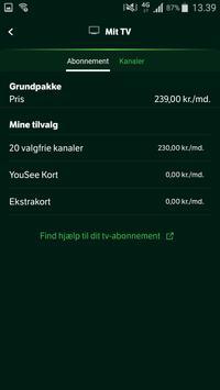 Mit YouSee apk screenshot