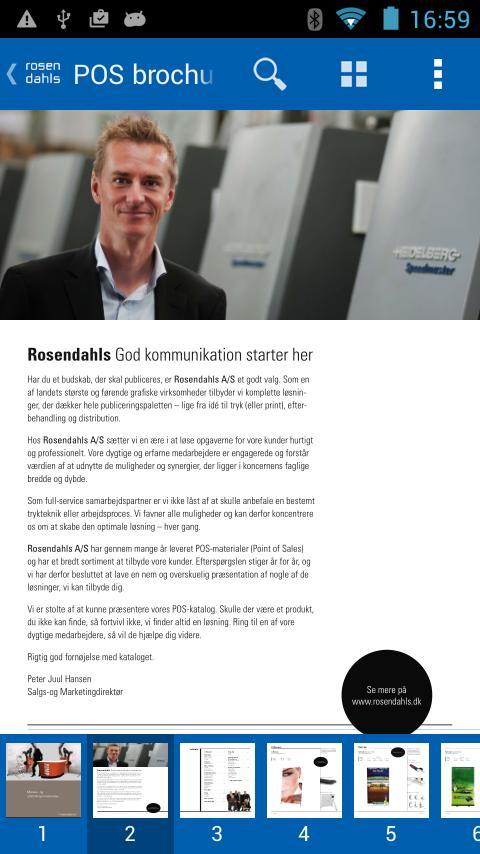 Rosendahls poster