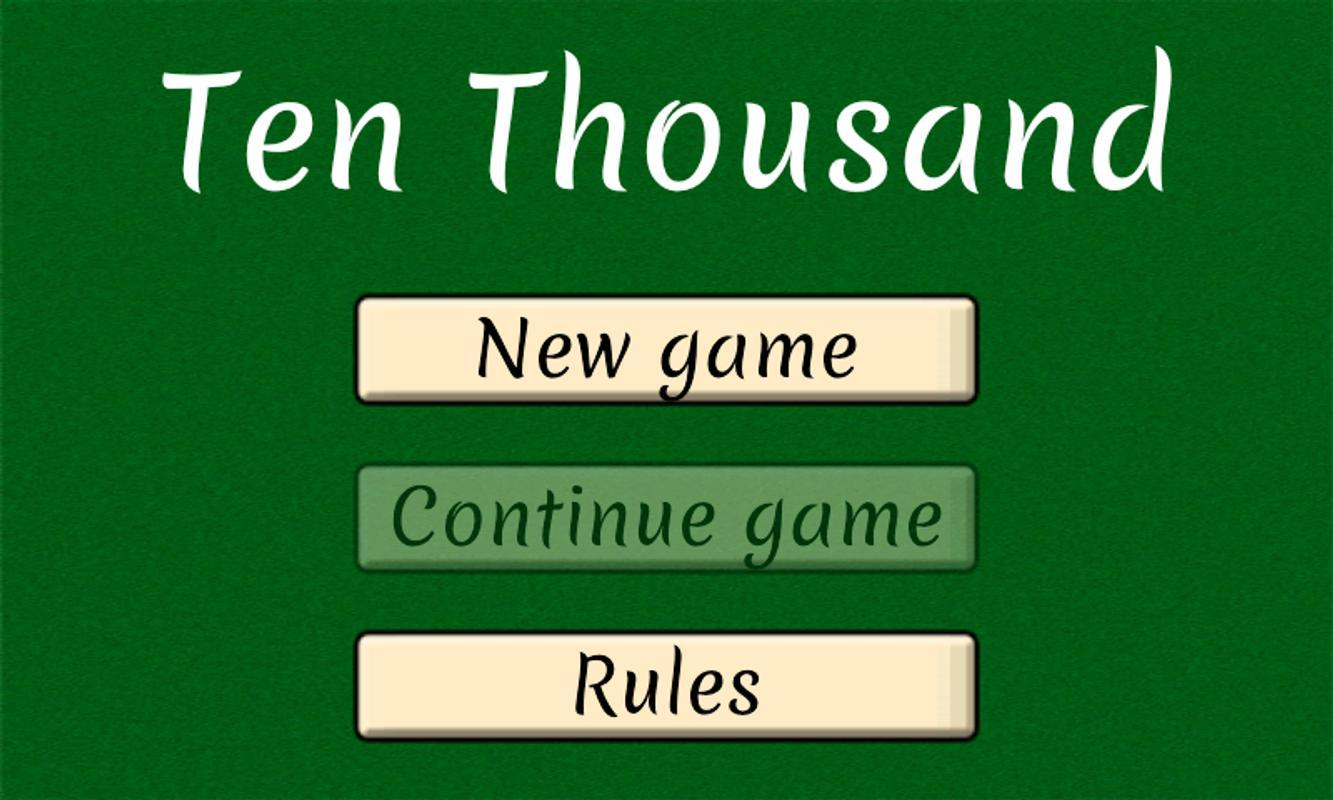 Spiel 10000